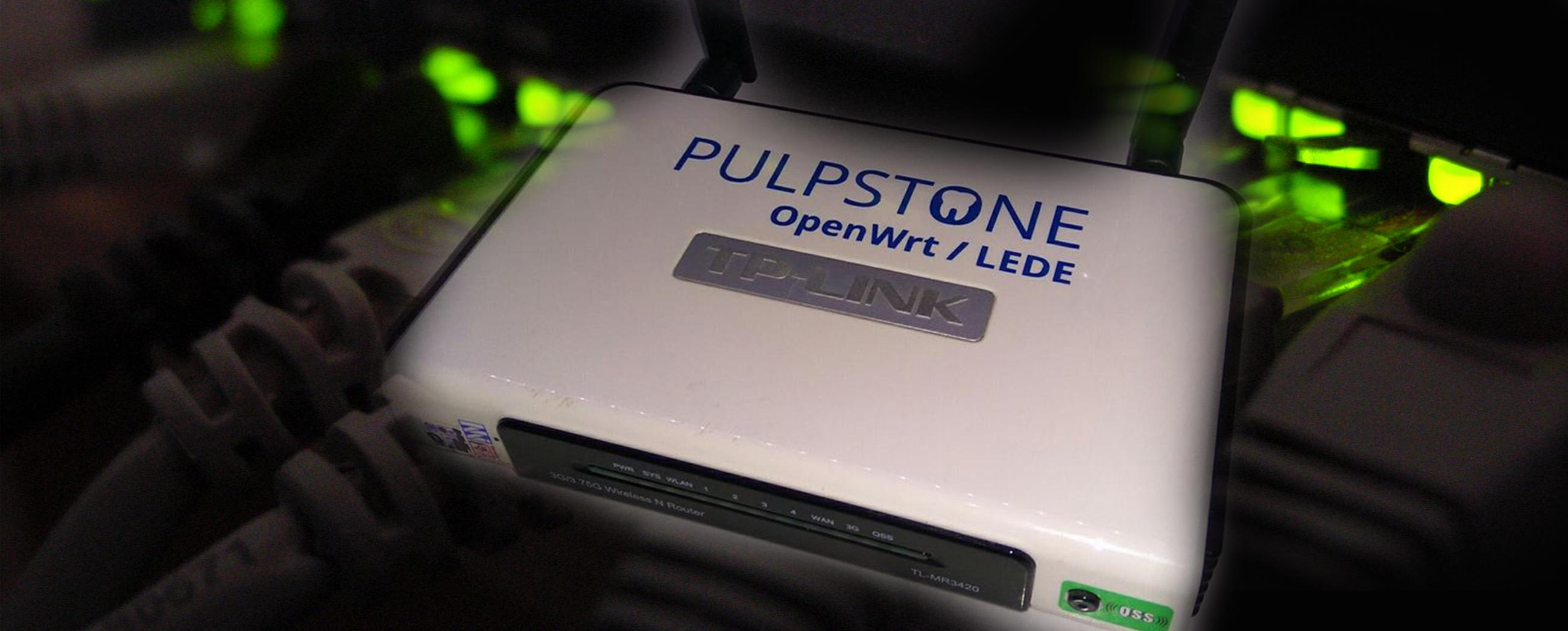 Pulpstone OpenWrt - LEDE